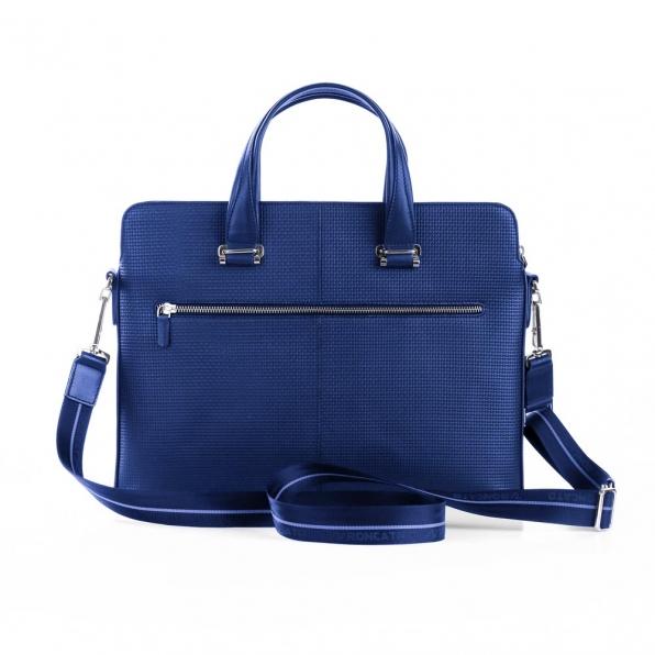 خرید و قیمت کیف دستی لپ تاپی رونکاتو ایران مدل بریو سه تبله رنگ  آبی 14 اینچ رونکاتو ایتالیا – roncatoiran START RONCATO ITALY 41202123 2