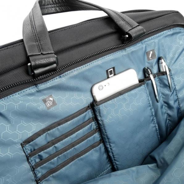 خرید و قیمت کیف دستی رونکاتو مدل وال استریت رنگ مشکی سایز 15.6 اینچ رونکاتو ایتالیا – roncatoiran WALL STREET RONCATO ITALY 41215001 5