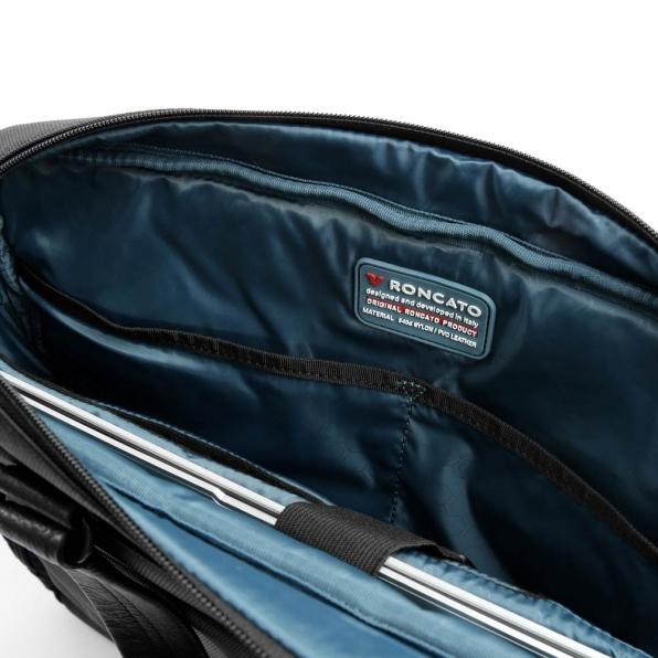 خرید و قیمت کیف دستی رونکاتو مدل وال استریت رنگ مشکی سایز 15.6 اینچ رونکاتو ایتالیا – roncatoiran WALL STREET RONCATO ITALY 41215001 6