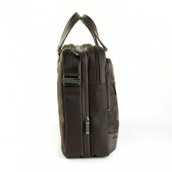 خرید و قیمت کیف دستی رونکاتو مدل وال استریت رنگ قهوه ای سایز 15.6 اینچ رونکاتو ایتالیا – roncatoiran WALL STREET RONCATO ITALY 41215044 1