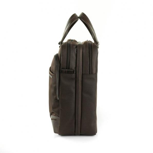 خرید و قیمت کیف دستی رونکاتو مدل وال استریت رنگ قهوه ای سایز 15.6 اینچ رونکاتو ایتالیا – roncatoiran WALL STREET RONCATO ITALY 41215044 2