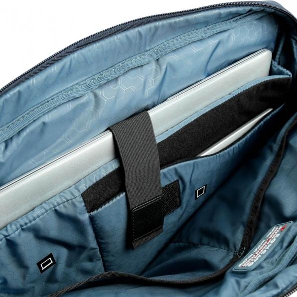 خرید و قیمت کیف دستی رونکاتو مدل وال استریت تک تبله رنگ سرمه ای سایز 14 اینچ رونکاتو ایتالیا – roncatoiran WALL STREET RONCATO ITALY 41215123 4