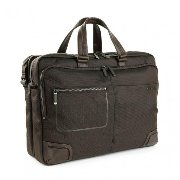 خرید و قیمت کیف دستی لپ تاپ رونکاتو مدل وال استریت رنگ قهوه ای سایز 15.6 اینچ رونکاتو ایتالیا – roncatoiran WALL STREET RONCATO ITALY 41215244 1