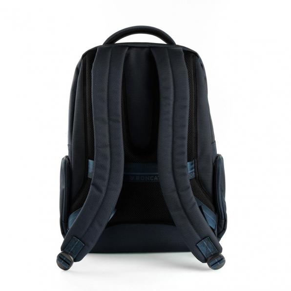 خرید و قیمت کوله پشتی لپ تاپ رونکاتو مدل وال استریت رنگ سرمه ای سایز 15.6 اینچ رونکاتو ایتالیا – roncatoiran WALL STREET RONCATO ITALY 41215323 2