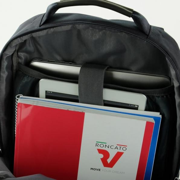 خرید و قیمت کوله پشتی لپ تاپ رونکاتو مدل اُربن فیلینگ رنگ مشکی سایز 15.6 اینچ دو تبله رونکاتو ایتالیا – roncatoiran URBAN FEELING RONCATO ITALY 41233301 5