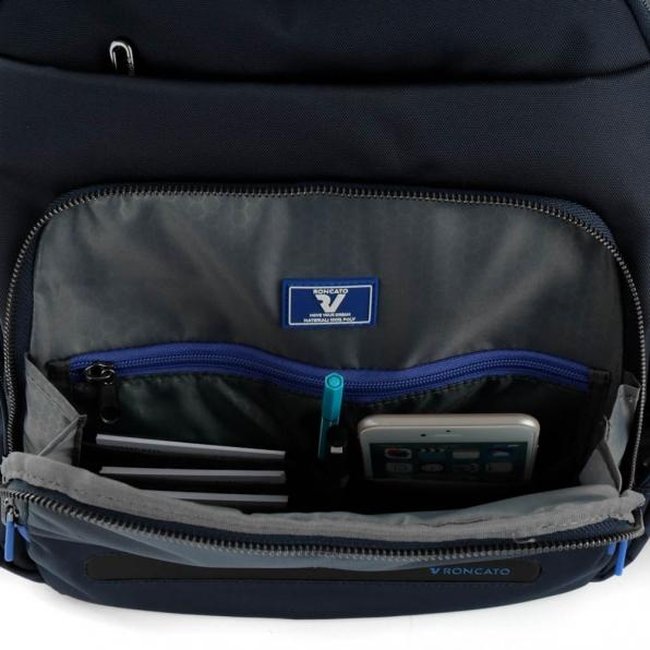 خرید و قیمت کوله پشتی لپ تاپ رونکاتو مدل اُربن فیلینگ رنگ سرمه ای سایز 15.6 اینچ دو تبله رونکاتو ایتالیا – roncatoiran URBAN FEELING RONCATO ITALY 41233358 6