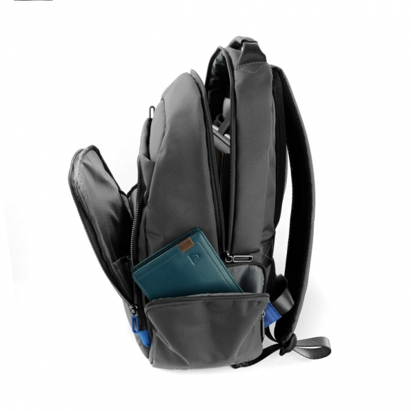 خرید و قیمت کوله پشتی لپ تاپ رونکاتو مدل اُربن فیلینگ رنگ طوسی سایز 14 اینچ تک تبله رونکاتو ایتالیا – roncatoiran URBAN FEELING RONCATO ITALY 41233422 4