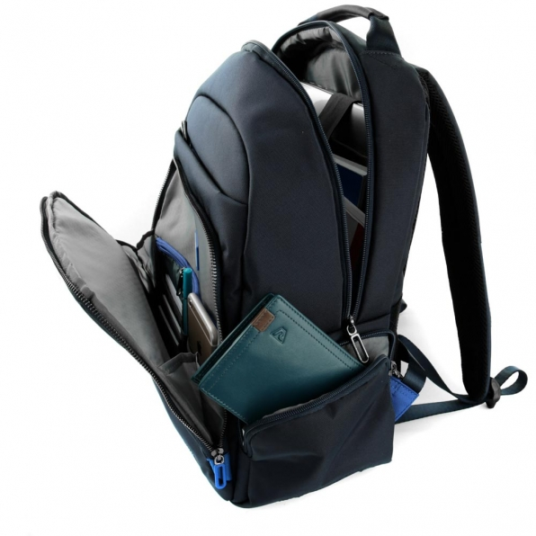 خرید و قیمت کوله پشتی لپ تاپ رونکاتو مدل اُربن فیلینگ رنگ سرمه ای سایز 14 اینچ تک تبله رونکاتو ایتالیا – roncatoiran URBAN FEELING RONCATO ITALY 41233458 3