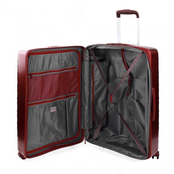 خرید و قیمت چمدان رونکاتو ایران مدل لایت رنگ قرمز سایز متوسط رونکاتو ایتالیا – roncatoiran LIGHT RONCATO ITALY 41470289 2