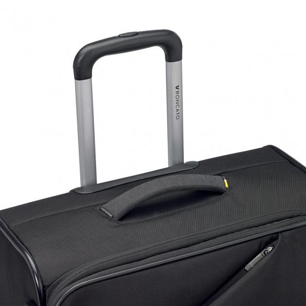 خرید و قیمت چمدان رونکاتو ایران مدل هایپر رنگ مشکی سایز کابین رونکاتو ایتالیا – roncatoiran HYPER RONCATO ITALY 41685301 2