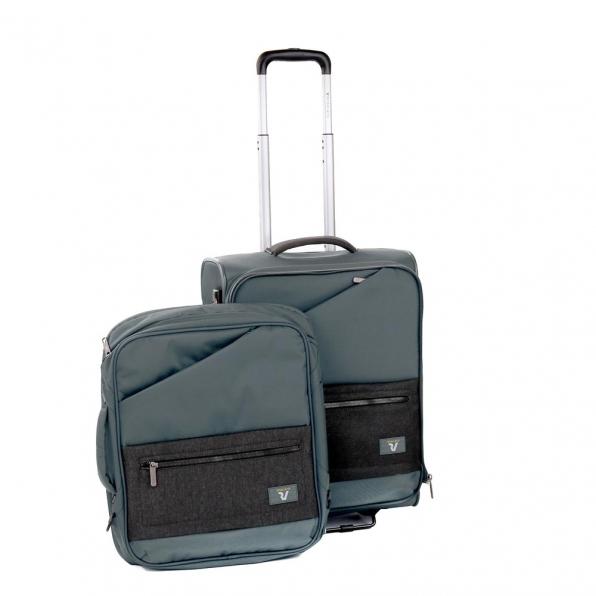 خرید و قیمت چمدان رونکاتو ایران مدل هایپر سایز کابین با کوله پشتی متحرک رنگ نوک مدادی رونکاتو ایتالیا – roncatoiran HYPER RONCATO ITALY 41685422 1
