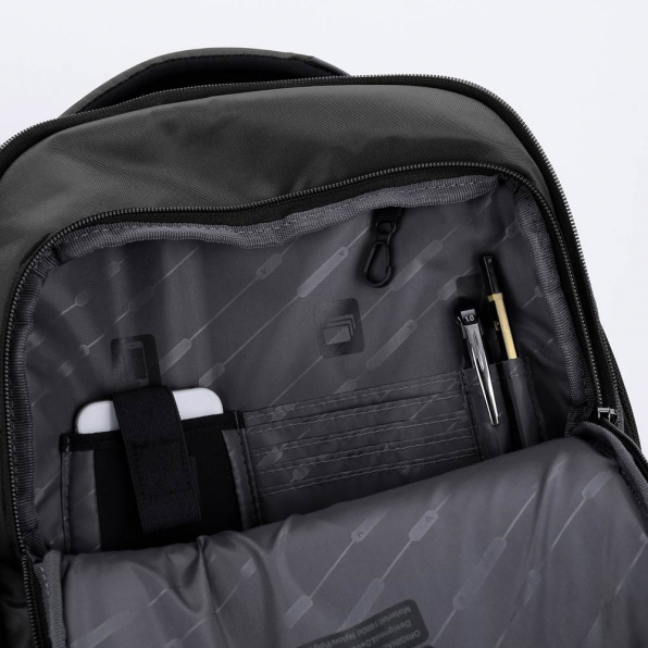 خرید و قیمت کوله پشتی رونکاتو مدل دِسک رنگ مشکی سایز 15.6 اینچ دو تبله رونکاتو ایتالیا – roncatoiran DESK RONCATO ITALY 41718001 6