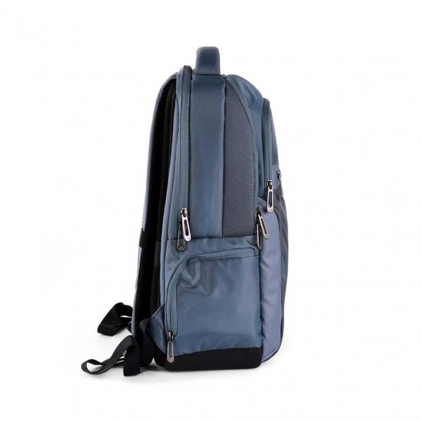 خرید و قیمت کوله پشتی رونکاتو مدل دِسک رنگ آبی سایز 15.6 اینچ دو تبله رونکاتو ایتالیا – roncatoiran DESK RONCATO ITALY 41718162 3
