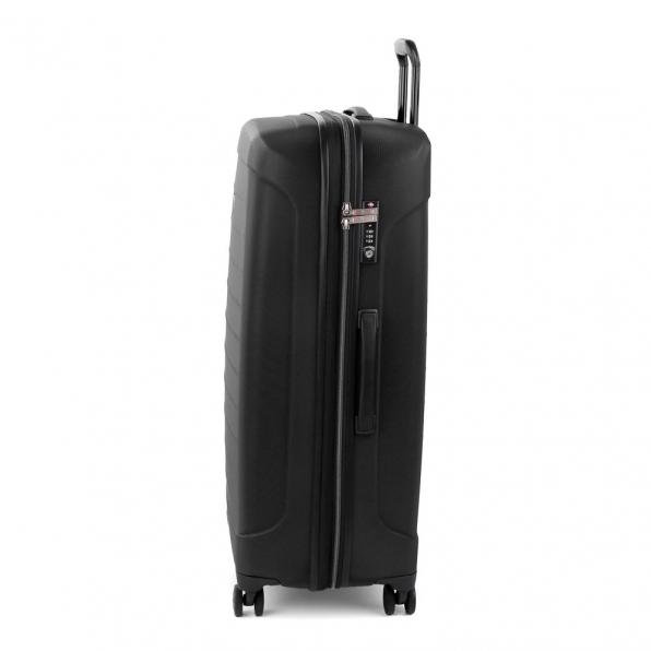 قیمت و خرید چمدان رونکاتو مدل فایبر لایت رونکاتو ایران رنگ مشکی سایز بزرگ رونکاتو ایتالیا – roncatoiran FIBER LIGHT RONCATO ITALY 41915101 1