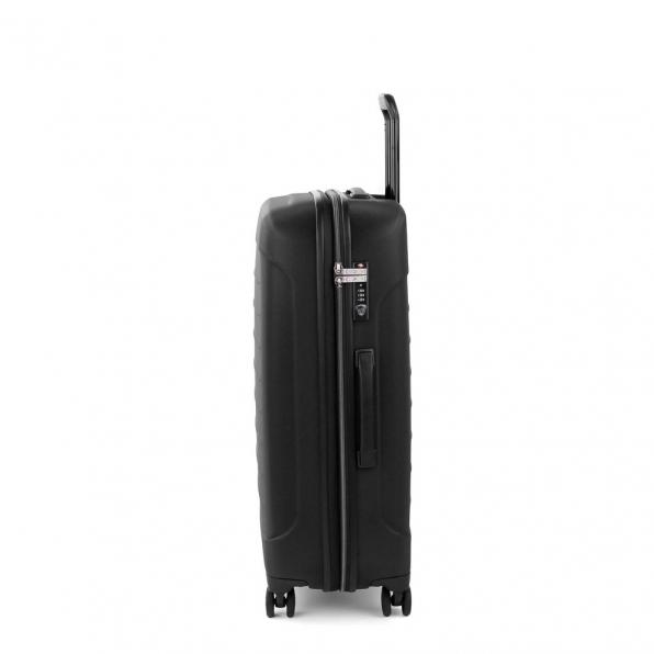 قیمت چمدان رونکاتو مدل فایبر لایت رنگ مشکی رونکاتو ایران سایز متوسط رونکاتو ایتالیا – roncatoiran FIBER LIGHT RONCATO ITALY 41915201 1