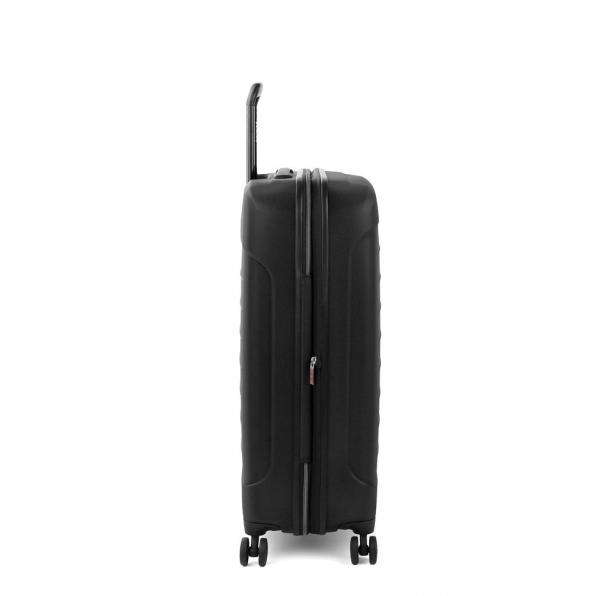 قیمت چمدان رونکاتو مدل فایبر لایت رنگ مشکی رونکاتو ایران سایز متوسط رونکاتو ایتالیا – roncatoiran FIBER LIGHT RONCATO ITALY 41915201 3