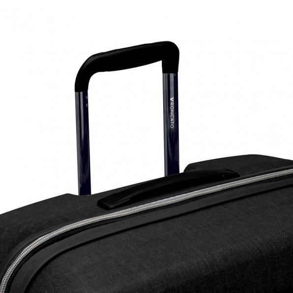 قیمت چمدان رونکاتو مدل فایبر لایت رنگ مشکی رونکاتو ایران سایز متوسط رونکاتو ایتالیا – roncatoiran FIBER LIGHT RONCATO ITALY 41915201 5