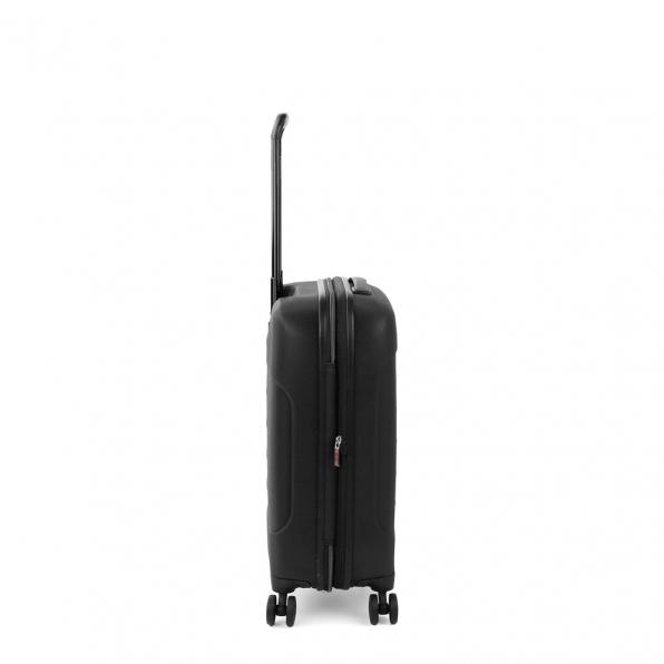 قیمت و خرید چمدان رونکاتو ایران مدل فایبر لایت رونکاتو رنگ مشکی سایز کابین رونکاتو ایتالیا – roncatoiran FIBER LIGHT RONCATO ITALY 41915301 1