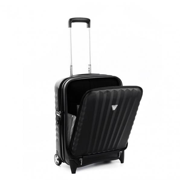 خرید چمدان رونکاتو ایران مدل اُنو بیز سایز کابین رنگ مشکی رونکاتو ایتالیا – RONCATO ITALY UNO BIZ 41952301 roncatoiran 1