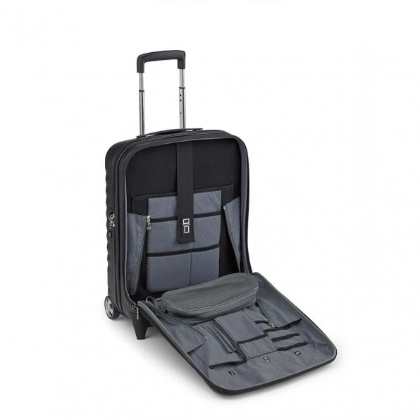 خرید چمدان رونکاتو ایران مدل اُنو بیز سایز کابین رنگ مشکی رونکاتو ایتالیا – RONCATO ITALY UNO BIZ 41952301 roncatoiran 2