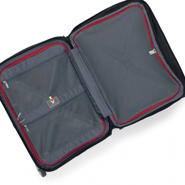 خرید چمدان رونکاتو ایران مدل اُنو بیز سایز کابین رنگ مشکی رونکاتو ایتالیا – RONCATO ITALY UNO BIZ 41952301 roncatoiran 4