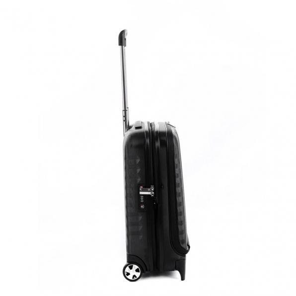 خرید چمدان رونکاتو ایران مدل اُنو بیز سایز کابین رنگ مشکی رونکاتو ایتالیا – RONCATO ITALY UNO BIZ 41952301 roncatoiran 5