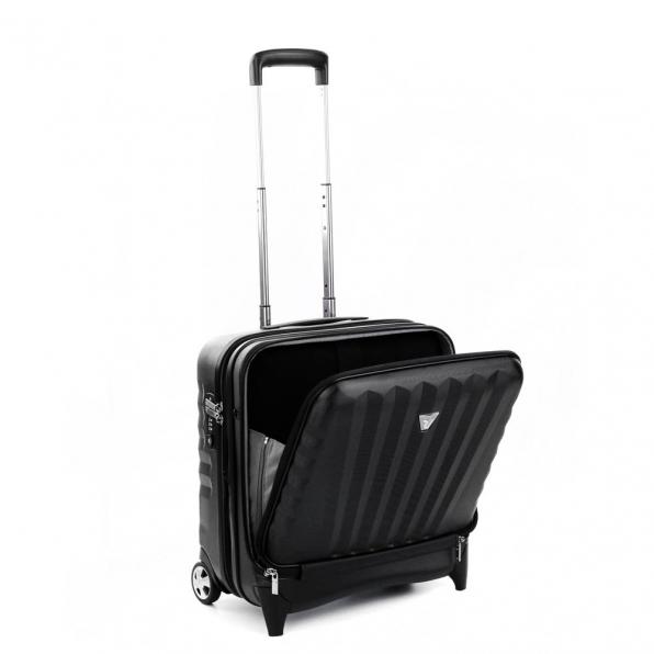 قیمت و خرید چمدان رونکاتو ایران مدل اُنو بیز سایز کابین رنگ مشکی رونکاتو ایتالیا – RONCATO ITALY UNO BIZ 41952401 roncatoiran 1