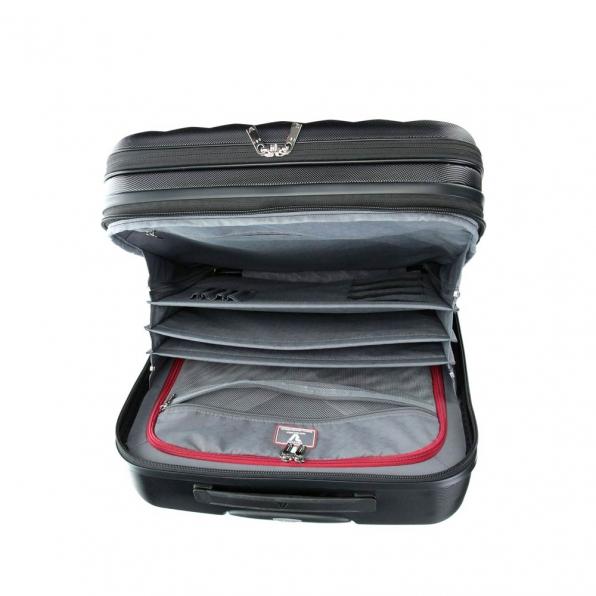 قیمت و خرید چمدان رونکاتو ایران مدل اُنو بیز سایز کابین رنگ مشکی رونکاتو ایتالیا – RONCATO ITALY UNO BIZ 41952401 roncatoiran 2