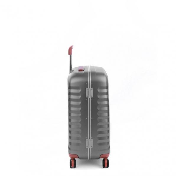 خرید و قیمت چمدان رونکاتو مدل اُنو دی ال ایکس رنگ نقره ای رونکاتو ایران سایز متوسط رونکاتو ایتالیا – roncatoiran UNO DLX RONCATO ITALY 41955245 1