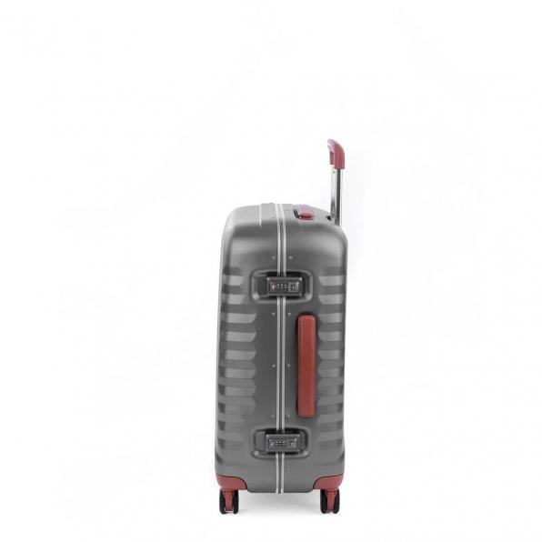 خرید و قیمت چمدان رونکاتو مدل اُنو دی ال ایکس رنگ نقره ای رونکاتو ایران سایز متوسط رونکاتو ایتالیا – roncatoiran UNO DLX RONCATO ITALY 41955245 3