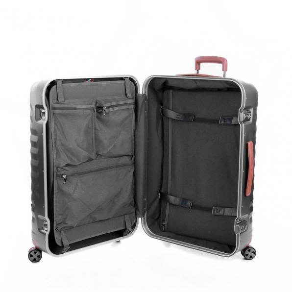 خرید و قیمت چمدان رونکاتو مدل اُنو دی ال ایکس رنگ نقره ای رونکاتو ایران سایز متوسط رونکاتو ایتالیا – roncatoiran UNO DLX RONCATO ITALY 41955245 4