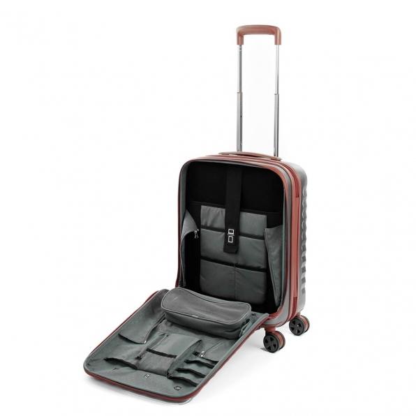 قیمت چمدان رونکاتو مدل اُنو دی ال ایکس رنگ نقره ای رونکاتو ایران سایز کابین رونکاتو ایتالیا – roncatoiran UNO DLX RONCATO ITALY 41955345 3
