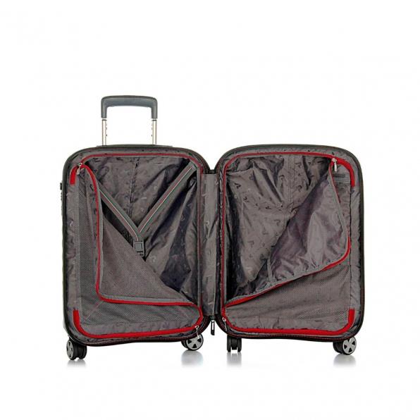 قیمت و خرید چمدان رونکاتو مدل دابل پریمیوم رونکاتو ایران رنگ نوک مدادی سایز کابین رونکاتو ایتالیا – roncatoiran DOUBLE PREMIUM RONCATO ITALY 51462201 2