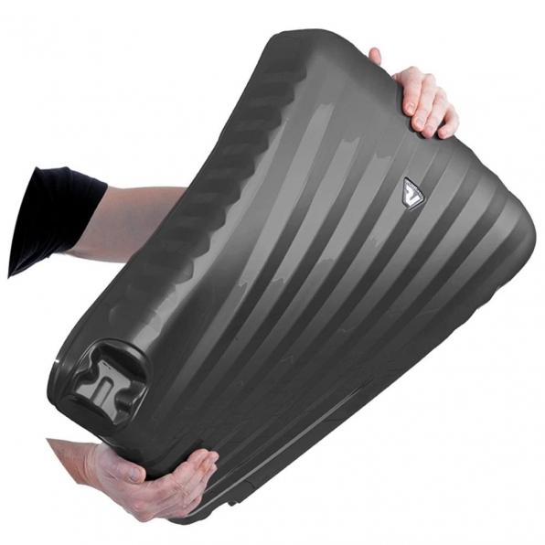 قیمت چمدان رونکاتو ایران مدل اونو اس ال سایز بزرگ رنگ مشکی ایتالیا – roncatoiran UNO SL RONCATO ITALY 51410101 2