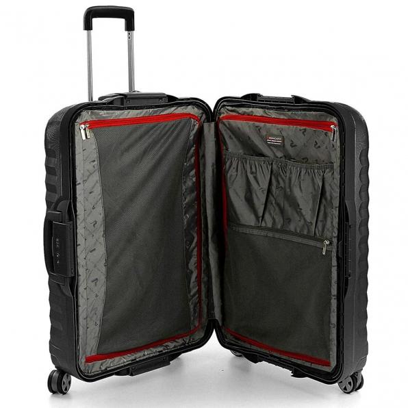 قیمت چمدان رونکاتو ایران مدل اونو اس ال سایز بزرگ رنگ مشکی ایتالیا – roncatoiran UNO SL RONCATO ITALY 51410101 3