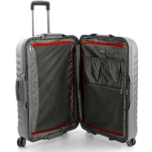 خرید و قیمت چمدان رونکاتو ایران مدل اونو اس ال سایز بزرگ رنگ نقره ای رونکاتو ایتالیا – roncatoiran UNO SL RONCATO ITALY 51410225 2