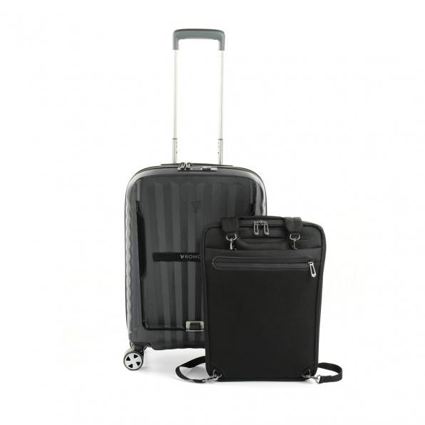 قیمت و خرید چمدان رونکاتو مدل دابل پریمیوم  رونکاتو ایران رنگ مشکی سایز کابین رونکاتو ایتالیا – roncatoiran DOUBLE PREMIUM RONCATO ITALY 51460101 1