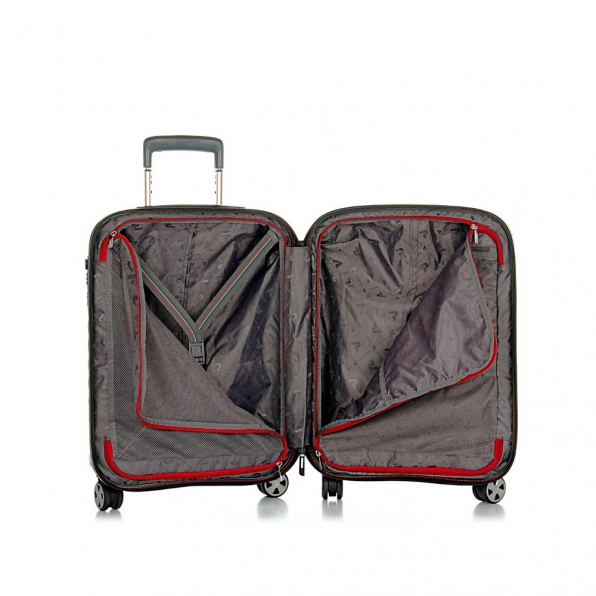 قیمت و خرید چمدان رونکاتو مدل دابل پریمیوم  رونکاتو ایران رنگ مشکی سایز کابین رونکاتو ایتالیا – roncatoiran DOUBLE PREMIUM RONCATO ITALY 51460101 3