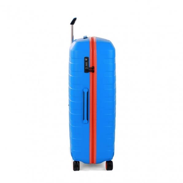 چمدان رونکاتو ایتالیا مدل باکس یانگ سایز بزرگ رنگ آبی رونکاتو ایران –  BOX YOUNG RONCATO ITALY 55411208 roncatoiran 1