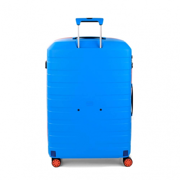 چمدان رونکاتو ایتالیا مدل باکس یانگ سایز بزرگ رنگ آبی رونکاتو ایران –  BOX YOUNG RONCATO ITALY 55411208 roncatoiran 2