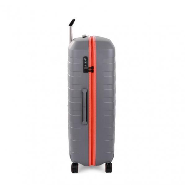 قیمت و خرید چمدان رونکاتو ایتالیا مدل باکس یانگ رونکاتو ایران رنگ خاکستری سایز بزرگ  –  BOX YOUNG RONCATO IRAN 55411220 roncatoiran 1