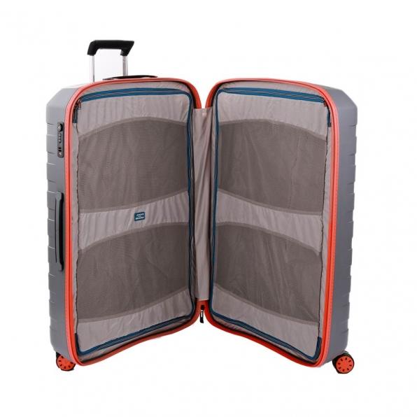 قیمت و خرید چمدان رونکاتو ایتالیا مدل باکس یانگ رونکاتو ایران رنگ خاکستری سایز بزرگ  –  BOX YOUNG RONCATO IRAN 55411220 roncatoiran 3