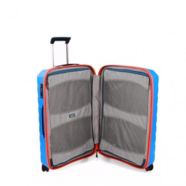 چمدان رونکاتو ایتالیا مدل باکس یانگ سایز متوسط رنگ آبی رونکاتو ایران –  BOX YOUNG MEDIUM RONCATO ITALY 55421208 roncatoiran 3