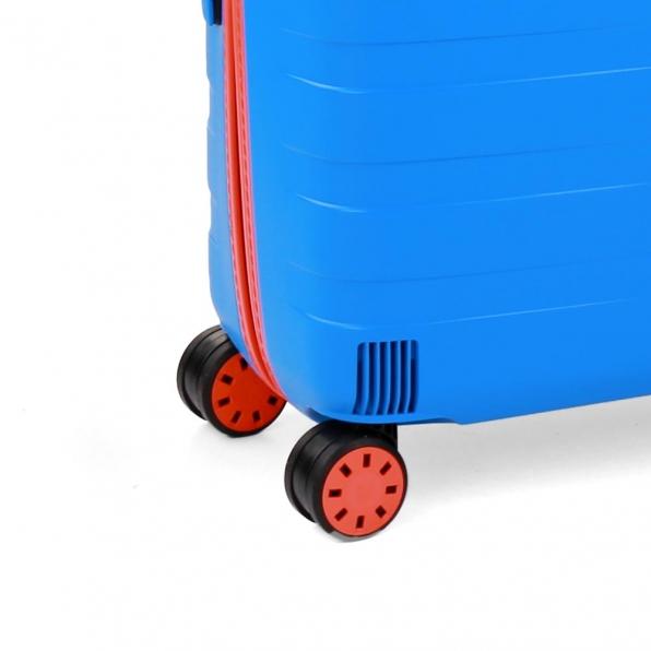 چمدان رونکاتو ایتالیا مدل باکس یانگ سایز متوسط رنگ آبی رونکاتو ایران –  BOX YOUNG MEDIUM RONCATO ITALY 55421208 roncatoiran 4