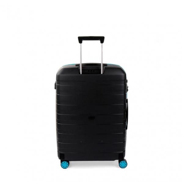 چمدان رونکاتو ایتالیا مدل باکس یانگ سایز متوسط رنگ مشکی رونکاتو ایران –  BOX YOUNG MEDIUM RONCATO ITALY 55421801 roncatoiran 1