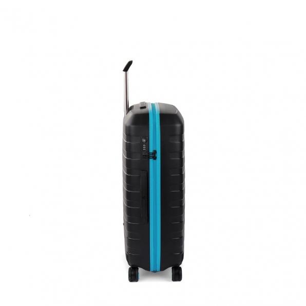 چمدان رونکاتو ایتالیا مدل باکس یانگ سایز متوسط رنگ مشکی رونکاتو ایران –  BOX YOUNG MEDIUM RONCATO ITALY 55421801 roncatoiran 2