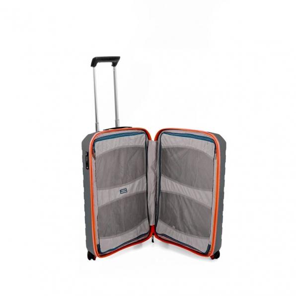 رونکاتو ایران چمدان مدل باکس یانگ سایز کابین رنگ خاکستری رونکاتو ایتالیا – roncatoiran BOX YOUNG CABIN SIZE RONCATO ITALY 55431220  1