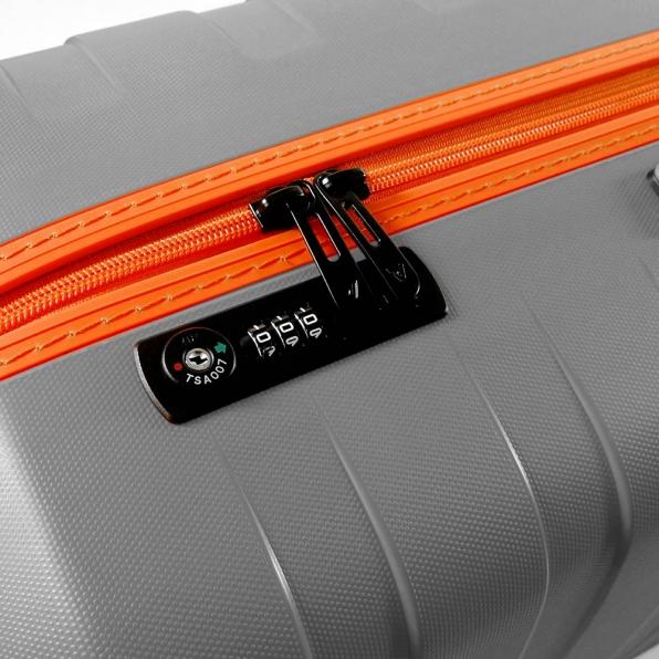 رونکاتو ایران چمدان مدل باکس یانگ سایز کابین رنگ خاکستری رونکاتو ایتالیا – roncatoiran BOX YOUNG CABIN SIZE RONCATO ITALY 55431220  5