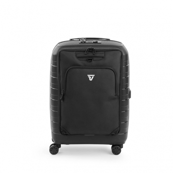 خرید و قیمت خرید چمدان رونکاتو ایران مدل دیباکس رنگ مشکی سایز کابین رونکاتو ایتالیا – roncatoiran D-BOX RONCATO ITALY 55530101 2