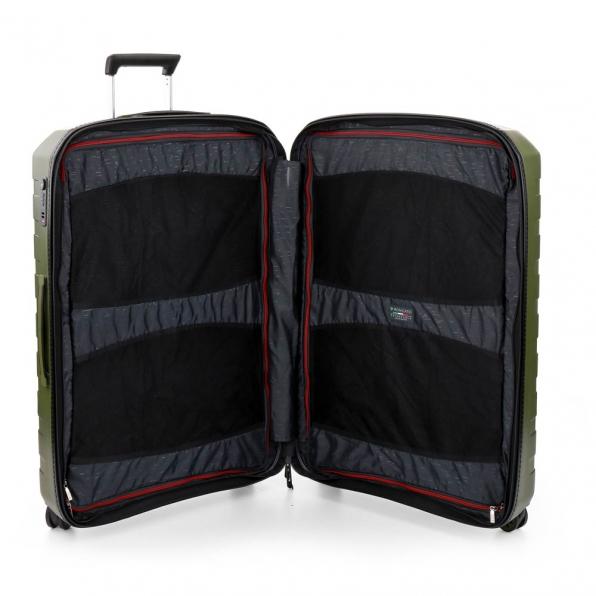 قیمت چمدان رونکاتو مدل باکس 4 رونکاتو ایران سایز بزرگ رنگ سبز رونکاتو ایتالیا  – roncatoiran BOX 4.0 CABIN SIZE RONCATO ITALY 55610157 4